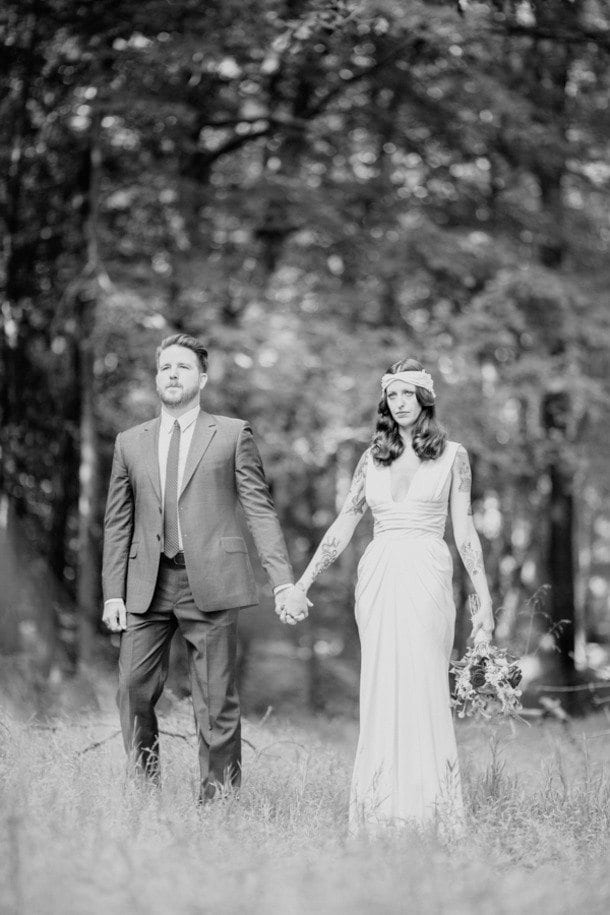 Andrea & Chuck - Dress by David Fielden from Lovely Bride - Photo by We are Diamond Eyes