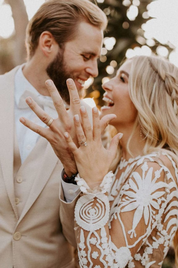 ashley brennan boho california zoo wedding