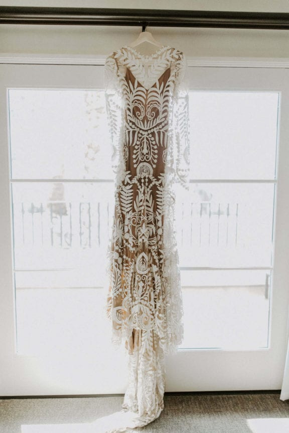 rue de seine avril long sleeve boho wedding dress